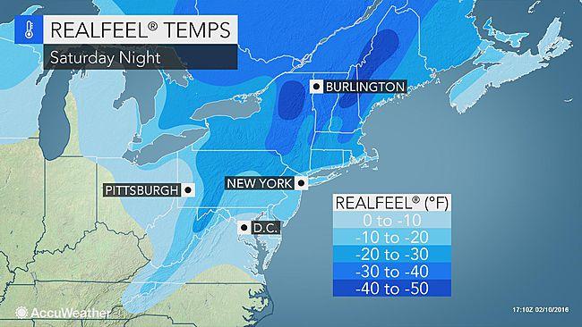 NYC: Polar vortex to smack region during Valentine's Day weekend