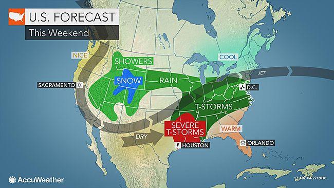 Los Angeles: Seasonable weather to end the week