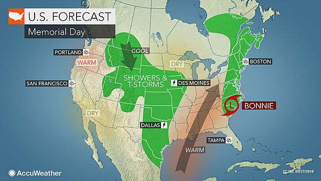 Los Angeles: Warm weather to last into Memorial Day weekend