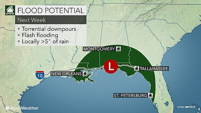 Earl expected to strengthen and produce more rain