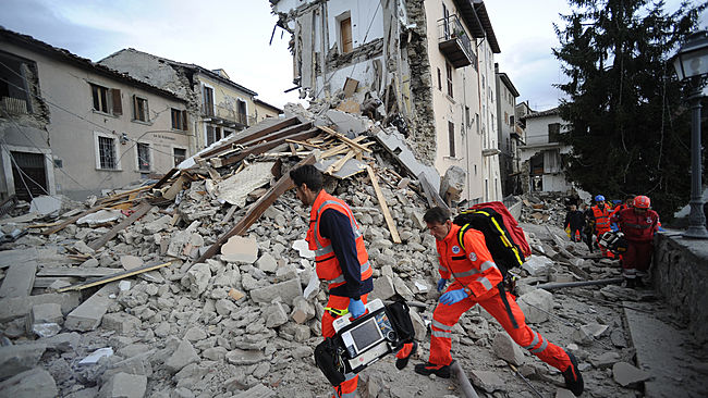 Dozens Killed as Earthquakes Strike Central Italy