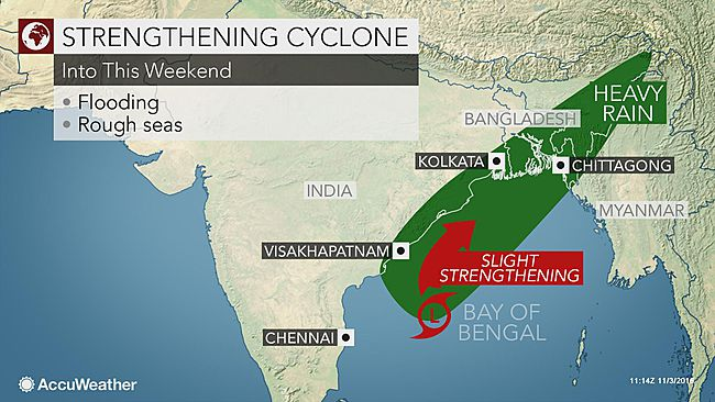 Coastal Districts Of West Bengal May Receive Heavy Rainfall Tomorrow