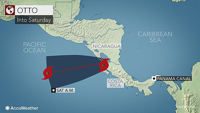 Nicaragua on Alert for Tropical Storm Otto