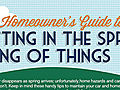 Infographic: DIY Spring Household Maintenance