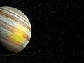 Jupiter's Great Red Spot is also red hot, study shows