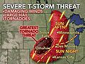 Minneapolis, Chicago, Omaha Face Severe Weather Danger