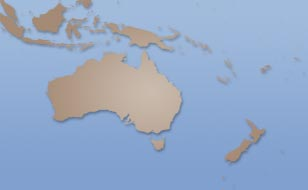 Australia weather satellite map
