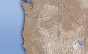 Oregon weather doppler radar map