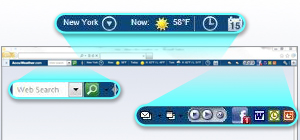 The AccuWeather Community Toolbar 