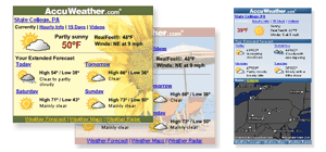 Free Weather For Your Site or Blog
