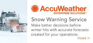 AccuWeather Snow Warning Service