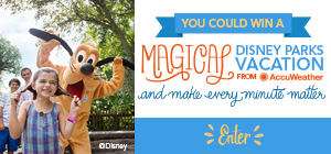 Enter to Win a Disney Parks Vacation