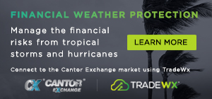 TradeWx Tropical Weather Trading and Financial Market