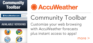 AccuWeather Community Toolbar