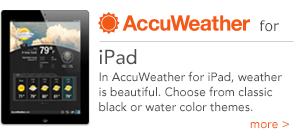 AccuWeather for iPad