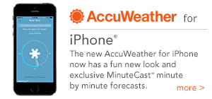 AccuWeather for iPhone
