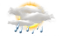 Villars weather - Light Rain Shower