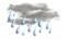Qinlao Town weather - Moderate rain
