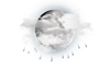 Partly Cloudy W/ Showers: 18C