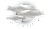 Mostly Cloudy W/ Showers: 14C